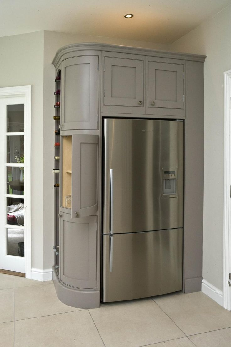 need a better fridge but cool use of space