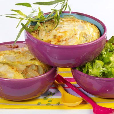 Découvrez la recette Clafoutis de poulet sur cuisineactuelle.fr.