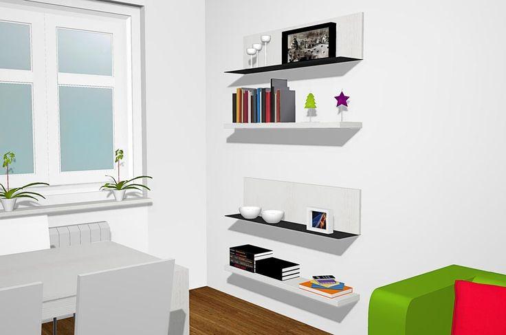 Proyecto 3d De Sal N Comedor Moderno Con Un Mueble