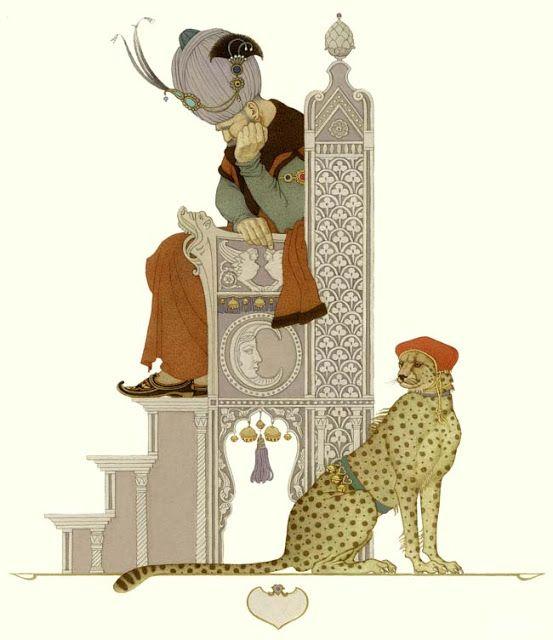 çizgili masallar: One Thousand and One Nights by Olga Dugina