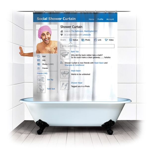 How's this for the social showerification of your bathroom?