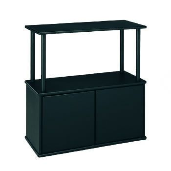 Aquatic Fundamentals 10/20 Gallon Aquarium Stand with Shelf- This would be so perfect for our aquarium, perfect storage space and matches with our furniture!