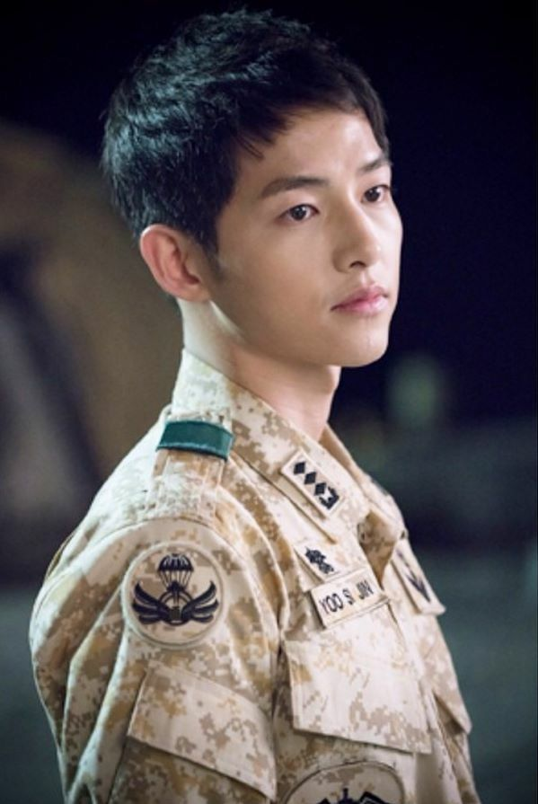 Descendants Of The Sun BTS Song Joong Ki