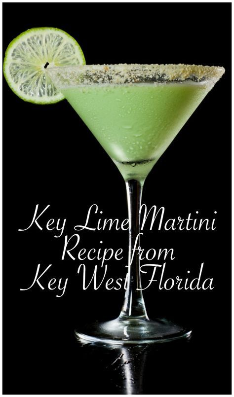 The Best Key Lime Pie Martini Recipe from Key West Florida!