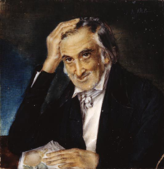 Francisco Javier Matis por José María Espinosa Prieto. Ca. 1845
