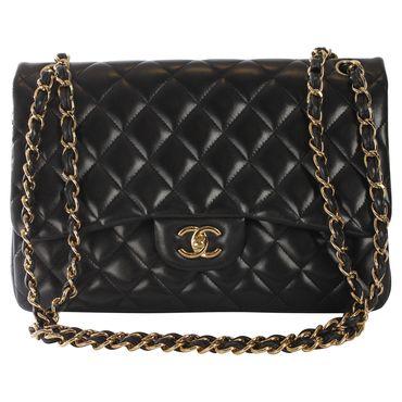 "Chanel - ""Jumbo 2.55 Flap Bag"" #vintagefashion"