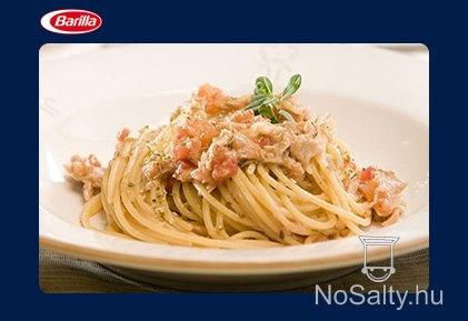 Tonhalas spagetti Barilla konyhájából
