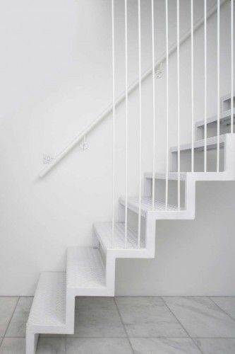 Staircase at brick a back house, Dublin, Ireland by Architecture Republic