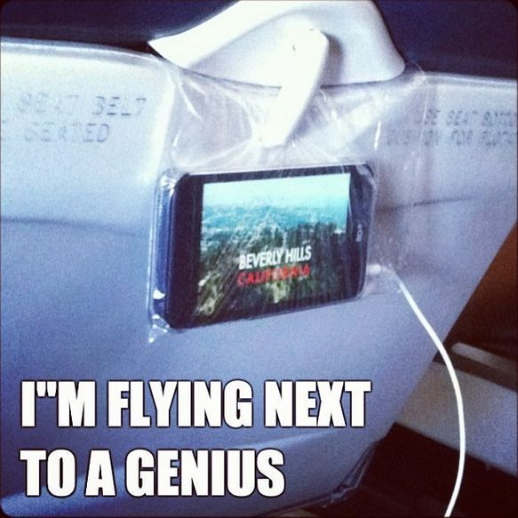 """""""I'm flying next to a GENIUS"""" Check out these cool travel hacks... #spon #lifehacks"""