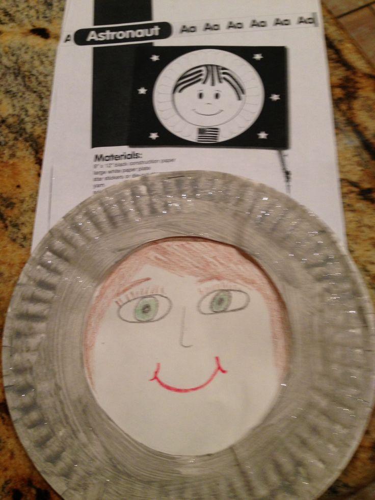 astronaut helmet craft preschool - photo #28