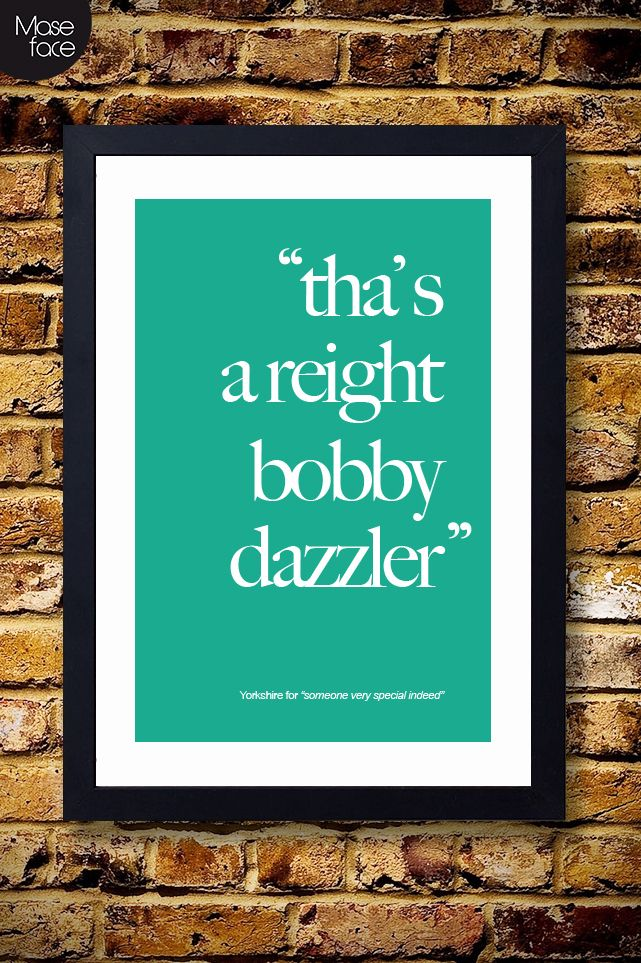 Yorkshire Quote Poster