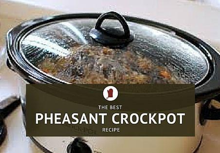 Crock Pot Pheasant Delight! > Pheasant For Dinner