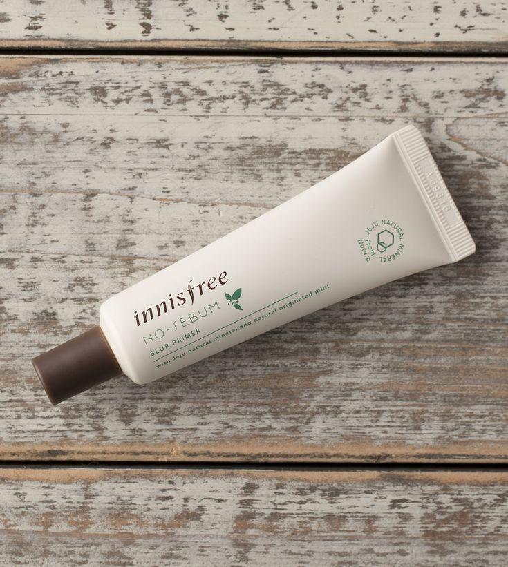 acheter en ligne INNISFREE  Base de teint peau parfaite matifiante et sublimatrice «No sébum blur primer» 25ml sur Mabbcreme le site des meilleurs cosmétiques asiatiques
