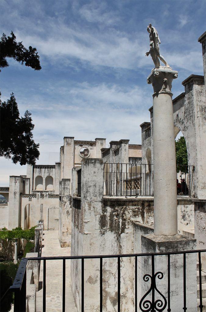 Muchas de las esculturas del carmen Rodríguez-Acosta son copias. #zoomMW #MuseumWeek Foto: Macarena Tejero.
