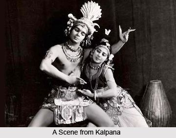 Kalpana is definitely a masterpiece of Indian cinema and it is almost impossible to categorise indeed Kalpana is the artistic seed of Uday Shankar. It has remained a model for even the most discerning of filmmakers. for more visit the page. #dance #music #art