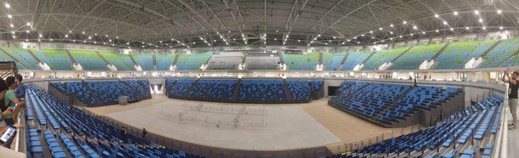 Visita ao Parque Olímpico da Barra no Rio de Janeiro .