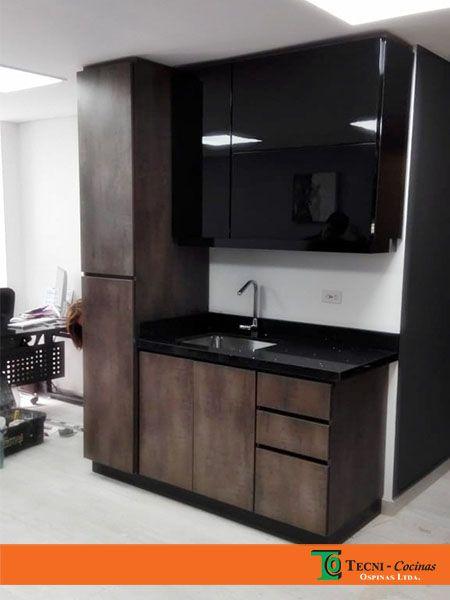 Mueble de alacena con muebles de cocina en formica y pintura ...