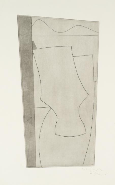 Ben Nicholson OM 'untitled', 1967 © Angela Verren Taunt 2015. All rights reserved, DACS
