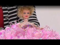 Como hacer flores en cintas de azúcar - Hogar Tv por Juan Gonzalo Angel - YouTube