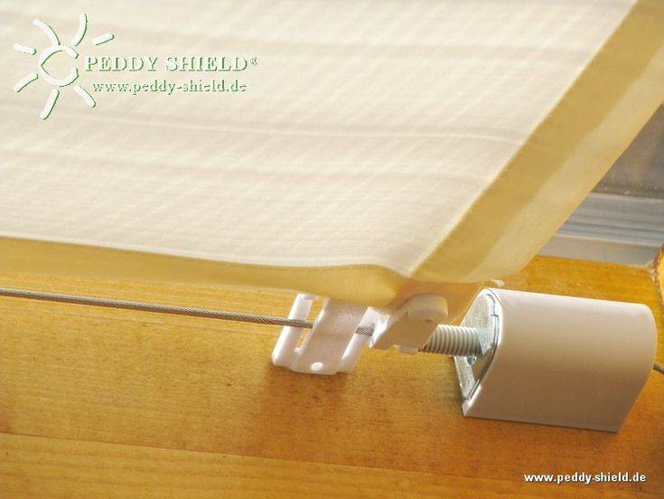 Sonnenschutz Terrassenüberdachung Innenbeschattung | Peddy Shield