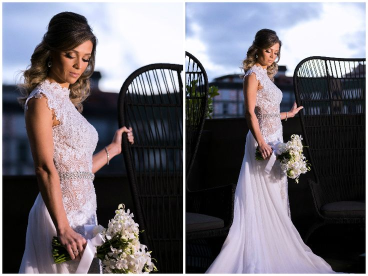 Vestido de noiva: cauda removível - Foto Namester Produções