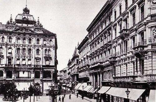 Budapest, Váci utca (1890/1910)
