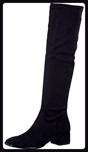 Tamaris Damenschuhe 1-1-25518-29 Damen Stiefel, Boots, Damen Stiefeletten, Herbstschuhe & Winterschuhe für modebewusste Frau schwarz (BLACK), EU 42 - Stiefel für frauen (*Partner-Link)