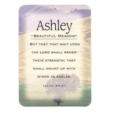 Image Result For Ashley Name Meaning