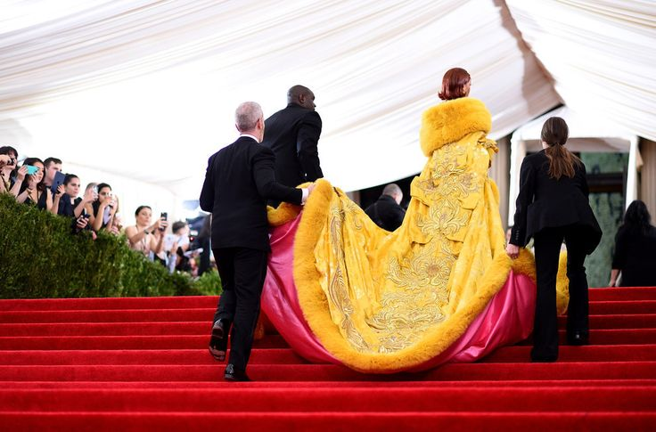 Rihanna At The Met Ball