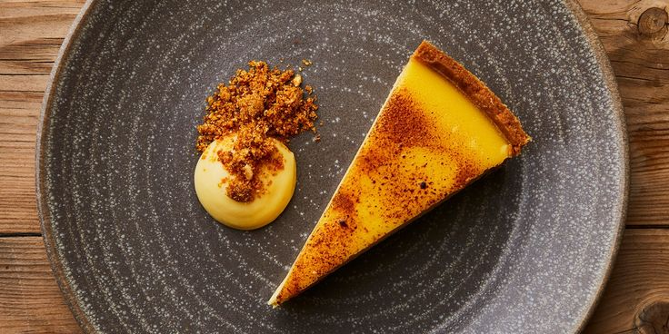 Dominic Chapman's stunning passion fruit tart recipe is served with a few clever accompaniments to take the dish to a whole new level.
