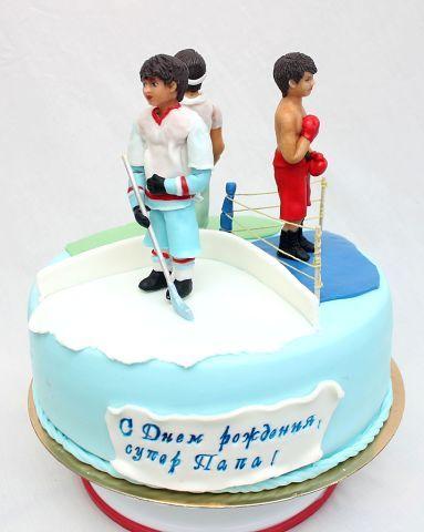 Супер-папа. #торт_на_заказ_днепропетровск #спортивные #комбинированный_торт