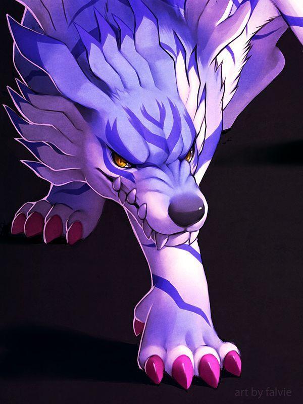 Digimon Dragon's Shadow: Garurumon