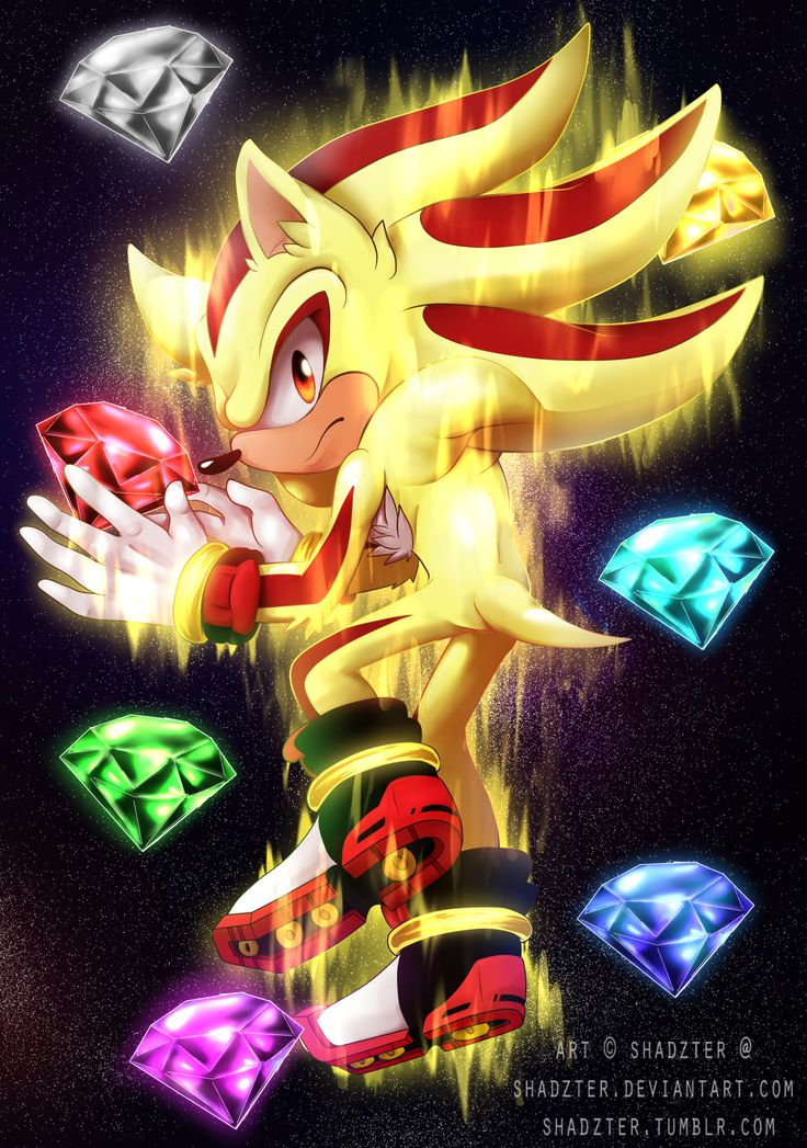 322 best images about shadow the ultimate life form on - Super sonic 6 ...