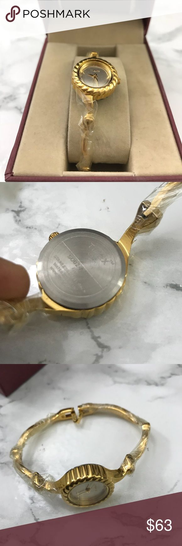 Queen Bangle Watch - NWOT The best gift you can give anyone is your time, next to which is a watch! This watch doubles as a bangle/bracelet and a watch adding so much of elegance to any formal dress or evening party wear! Perfect working condition, batteries have been checked. Accessories Watches
