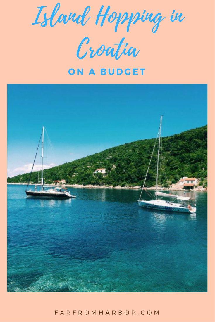 Croatian Island Hopping on a Budget