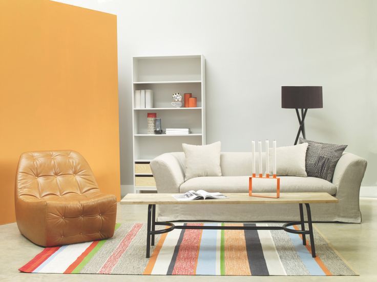 HIGGINSON NEUTRAL Fabric Natural Linen Mix 3 Seat Sofa   HabitatUK
