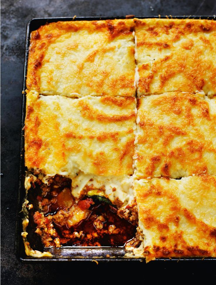 Patrick Leigh Fermor's Moussaka - The Happy Foodie