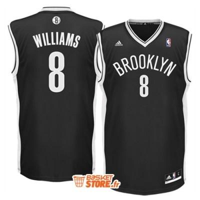 Le maillot de basket nba de Deron Williams des Brooklyn Nets - 49.80 € sur www.basketstore.fr