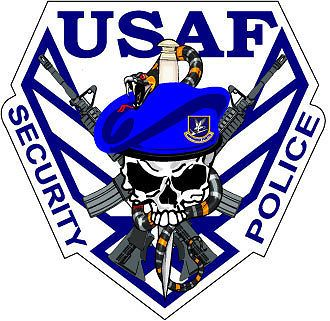 ★ USAF ★ 'SECURITY POLICE' ★ NOW CHANGED TO ★ USAF ★ 'SECURITY FORCES' ★
