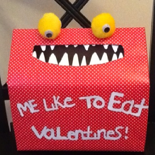 Valentine box for school.