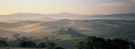 Farm Tuscany Italy by Panoramic Images on artflakes.com as poster or art print $16.63