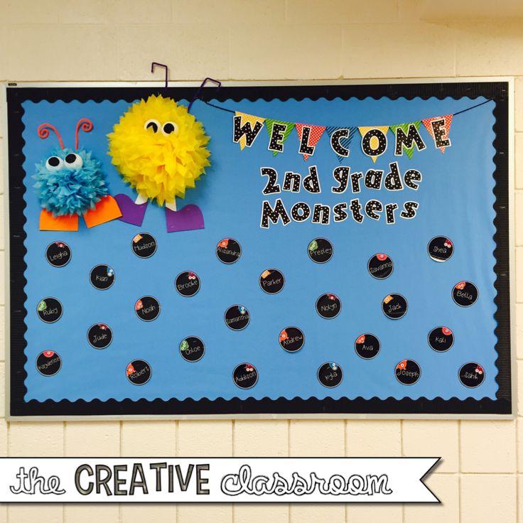 The Creative Classroom: Monster Theme Classroom Reveal 2015-2016