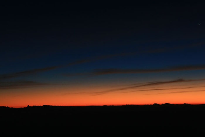 Beautiful Sunset from the top of Mt. Semeru