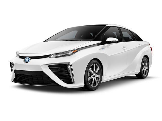 2018 Toyota Mirai Sedan Crystal White Car Dealership Toyota Fuel Cell Cars