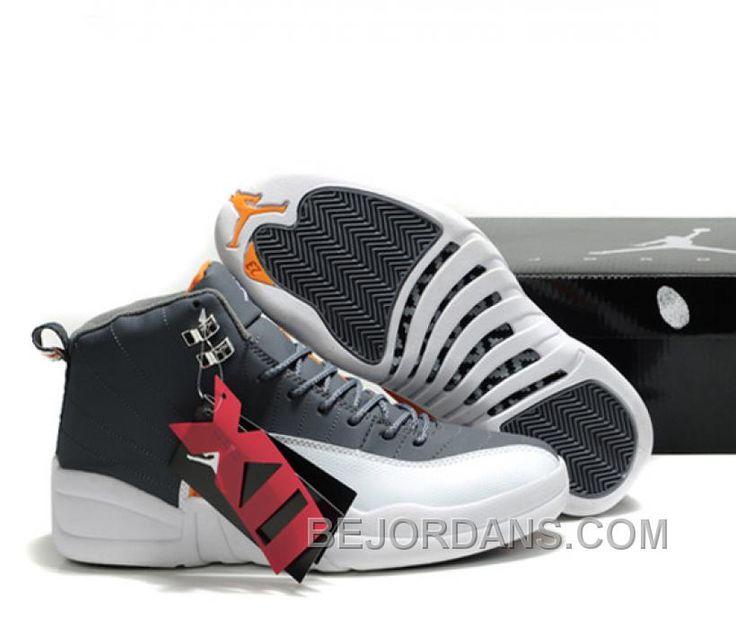 Durable Air Jordan 12 Black Brown with Hardback Package