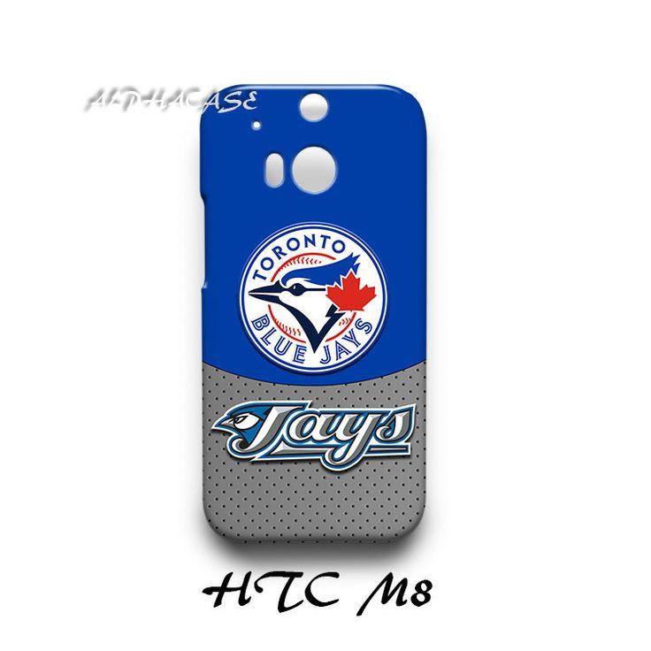Toronto Blue Jays HTC M8 Hardshell Case Cover