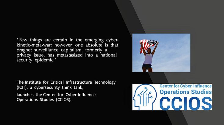 James Scott, Senior fellow and Co-Founder, Institute for Critical Infrastructure Technology (ICIT) & Center for Cyber Influence Operations Studies (CCIOS)    #hacking #Hackers #hacked #MindHackerz #TechTongue #Cyberculture #cyberart #digitalar #technology #cybersecurity #infosec #security #CCIOS #ICIT #JamesScott #inspiration