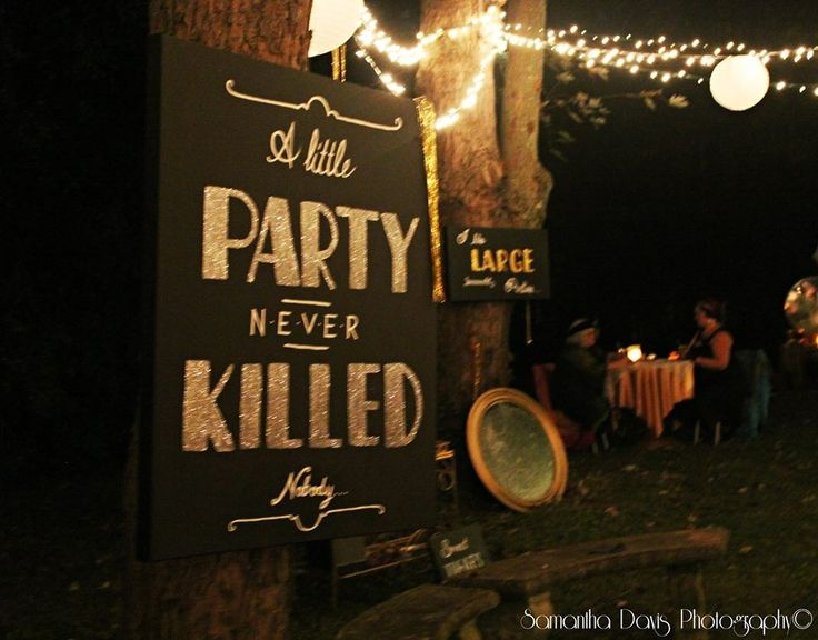 The Gatsby party came and went and was a huge success!!