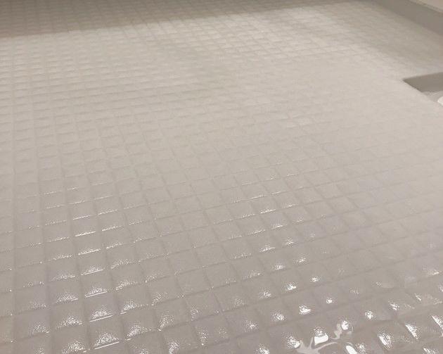 お風呂掃除 床編 用意するのはオキシクリーンとビニール袋だけ