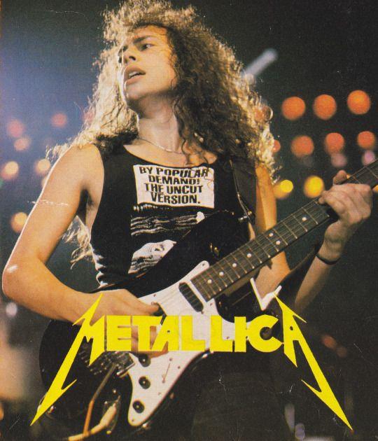 Kirk Hammett-Troy Polamalu-Separated @ birth?? <3 {GM}